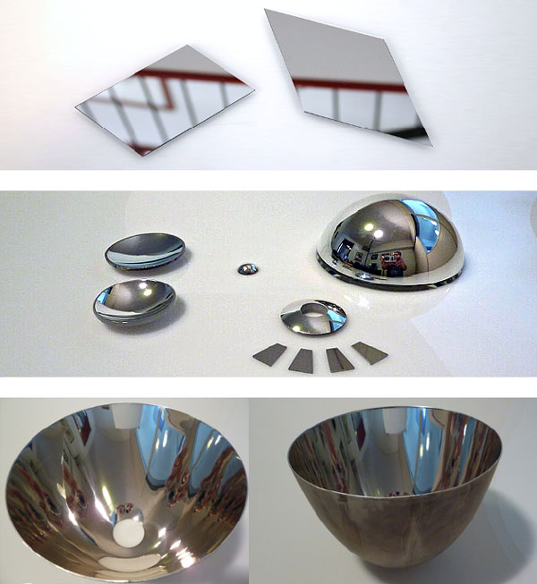 componenti ottici specchi ottici